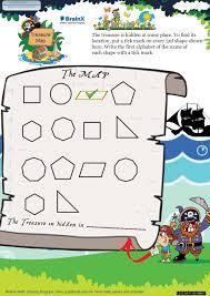 treasure map math worksheet for grade 4 free u0026 printable worksheets