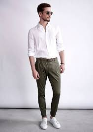 how to wear dark green pants 316 looks men u0027s fashion