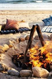 Backyard Campfire Backyard Fire Pit Ideas Inspired By Beach Bonfires Beach Bliss