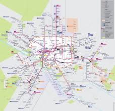 Nancy France Map by Dijon Tram Map
