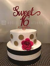 sweet 16 cake topper cake toppers in type cake candles occasion birthday color