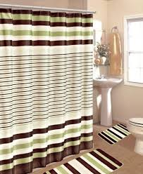 Bathroom Window And Shower Curtain Sets by Green Bathroom Sets With Shower Curtain And Rugs And Accessories