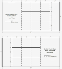 beccy u0027s place tutorial double shutter card aka double display card