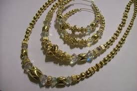 bead necklace gold images Gold filled beaded jewelry by dara t jpg