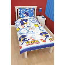 Children S Duvet Cover Sets Childrens Boys Sonic The Hedgehog Single Quilt Duvet Cover Bedding Set
