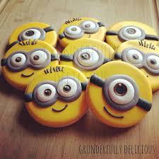 25 minion cookies ideas yellow minion