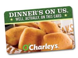 dinner and a gift card o s gift cards