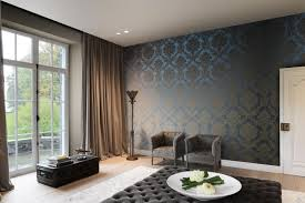 Jacquard Wallpaper Living Room Trianon Damask Tri111 Wall Coverings Wallpapers From Omexco