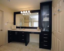 makeup vanity with sink sink makeup vanity same height love the drawers and bathroom cabinet