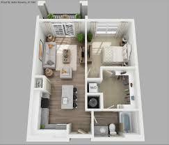 1 bedroom apartment floor plan 3d home design u0026 decorating geek
