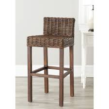 Rattan Kitchen Furniture by Kitchen U0026 Dining Rattan Bar Stools For Exotic Kitchen Decor Idea