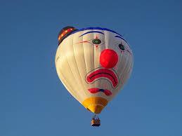 clown balloon free photo clown hot air balloon balloon free image on