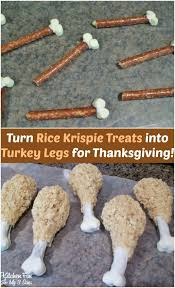 best 25 rice krispie turkey ideas on thanksgiving