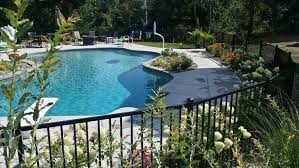 poolside designs 4 dreamy poolside patio designs lehigh landscaping landscapers in
