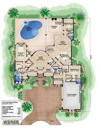Mediterranean House Floor Plans 121 Best Mediterranean House Plans Images On Pinterest Bedroom