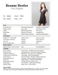 Dancer Resume Sample Dancer Resumes With Education Httptopresumedancer Dance Resumes