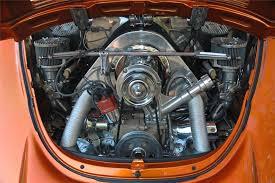 vw center mount fan shroud 1975 volkswagen super beetle custom convertible70684