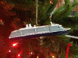 cruise ship tree ornaments rainforest islands ferry