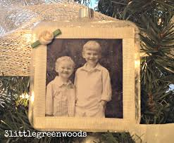 memory ornaments using photographs 3 greenwoods