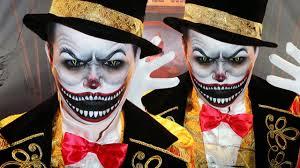 ringmaster halloween demonic ringmaster makeup tutorial youtube