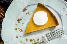 Gingersnap Pumpkin Cheesecake by Pumpkin Pie With Gingersnap Crust Home U0026 Family Hallmark Channel