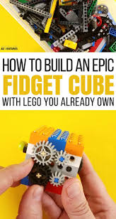 How To Build A Diy by How To Make An Epic Diy Lego Fidget Cube