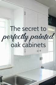 best paint and finish for kitchen cabinets painting oak cabinets white an amazing transformation
