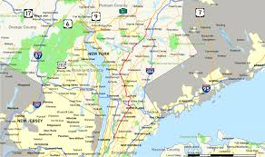 Printable Map Of New York City by New York State Route 100 Wikipedia
