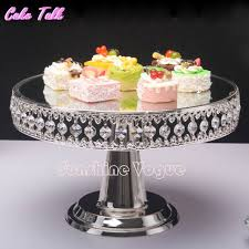 metal cake stand online shop bead silver plated metal cake stand 12 high