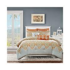 Grey Bedding Sets King Bedroom Total Fab Orange And Grey Bedding Sets Gray King Color