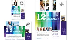 5 conference flyer templates af templates