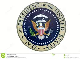 seal of the president of the united states editorial photography