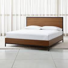 beds headboards and bed frames crate and barrel