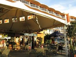 San Diego Awning Awning Over Patio Area And Wyndham Hotel Behind Picture Of