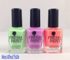 fresh paint honeydew guava and passion fruit swatch and review