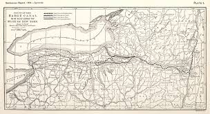 Ohio Erie Canal Map by Noble Phelps Moves West To Illinois