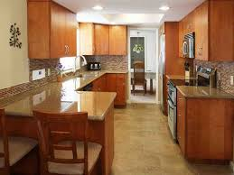 Kitchen Design Galley Layout Kitchen Inspiring Galley Kitchen Designs With Peninsula For Of