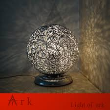 online get cheap silver ball table lamp aliexpress com alibaba ark light original new modern siver aluminum ball led table lamp living room children bedroom study
