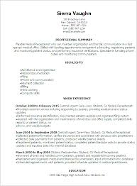 receptionist resume templates simple resume for receptionist professional