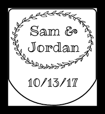 wedding favor labels wedding favor sanitizer labels label templates ol3344