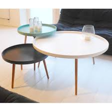 Table Basse table basse scandinave kompass 90 by drawer