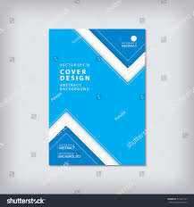 business brochure cover template layout design stock vector