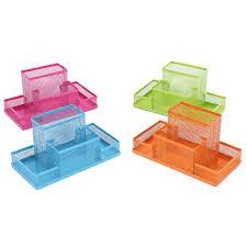 Pencil Holders For Desks by Metal Office Organizer Box Pen Pencil Holder Desk Stationery