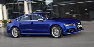 blue audi s7 2014 audi a7 a7 tdi s7 and rs7 launched in us
