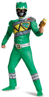 power ranger costume spirit halloween power rangers dino charge boys green ranger muscle costume