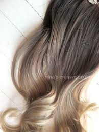 ombre hair extensions clip in ash ombre hair ombre clip in hair extensions ash