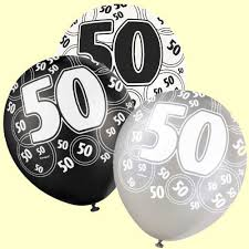 50th birthday balloons birthday balloons 50th birthday balloons black and silver from
