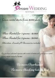dream wedding ultimate gown package dream wedding