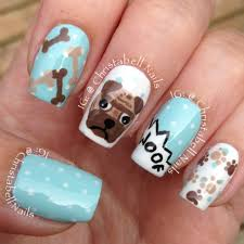 cowgirl nail art designs christabellnails pug nail design