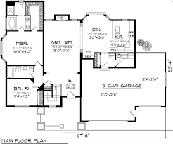 ranch style house plan 2 beds 2 00 baths 1683 sq ft plan 70 1112